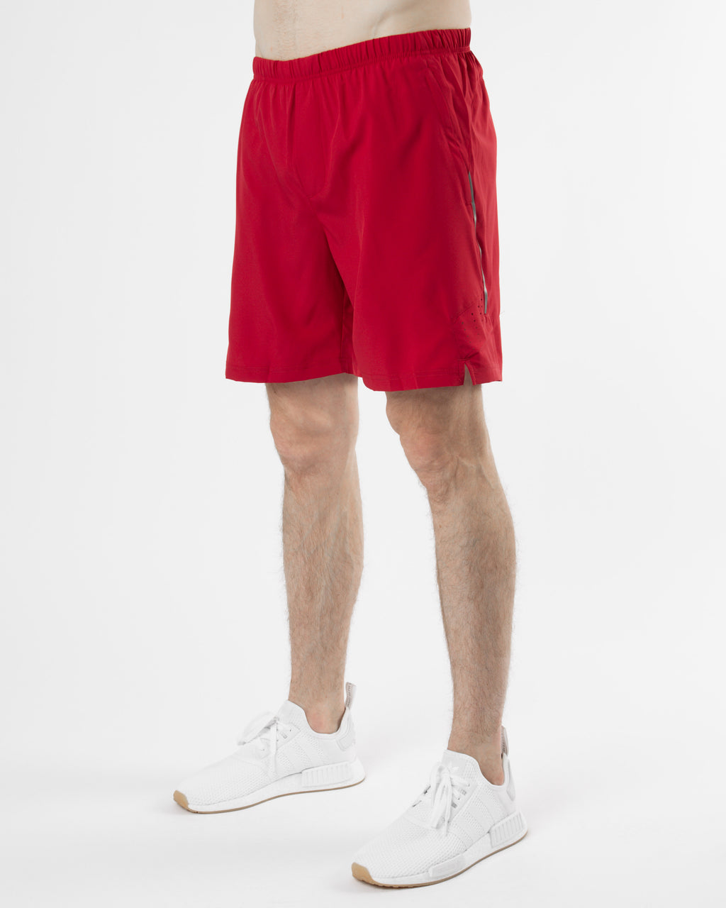 "V2 6"" Athletic Shorts ~ Red"