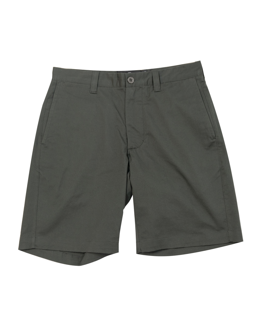 "9"" Stretch Chino Shorts ~ Olive"