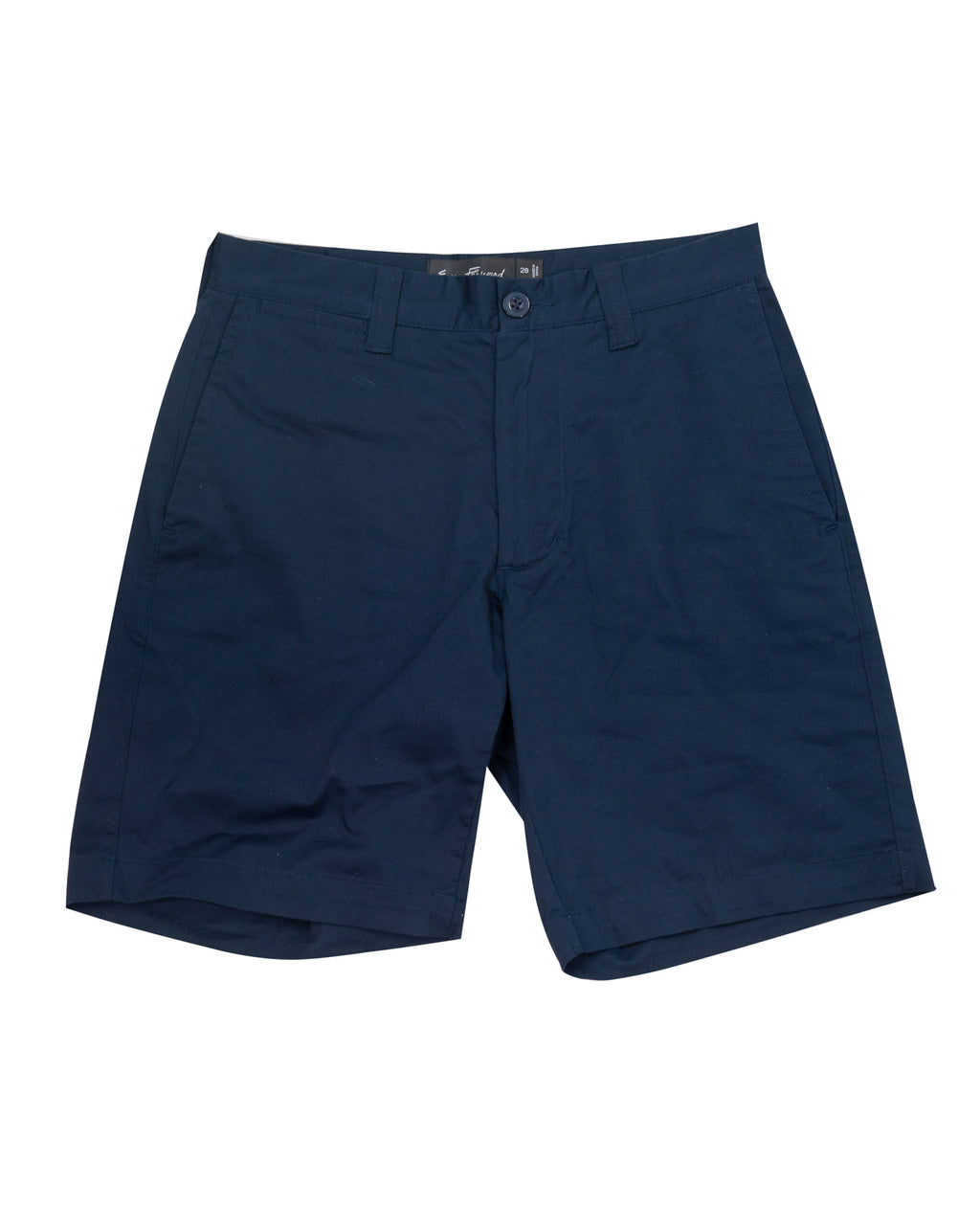 "9"" Stretch Chino Shorts ~ Navy"