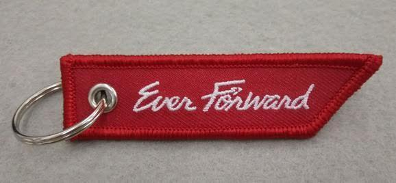 Ever Forward Keychain