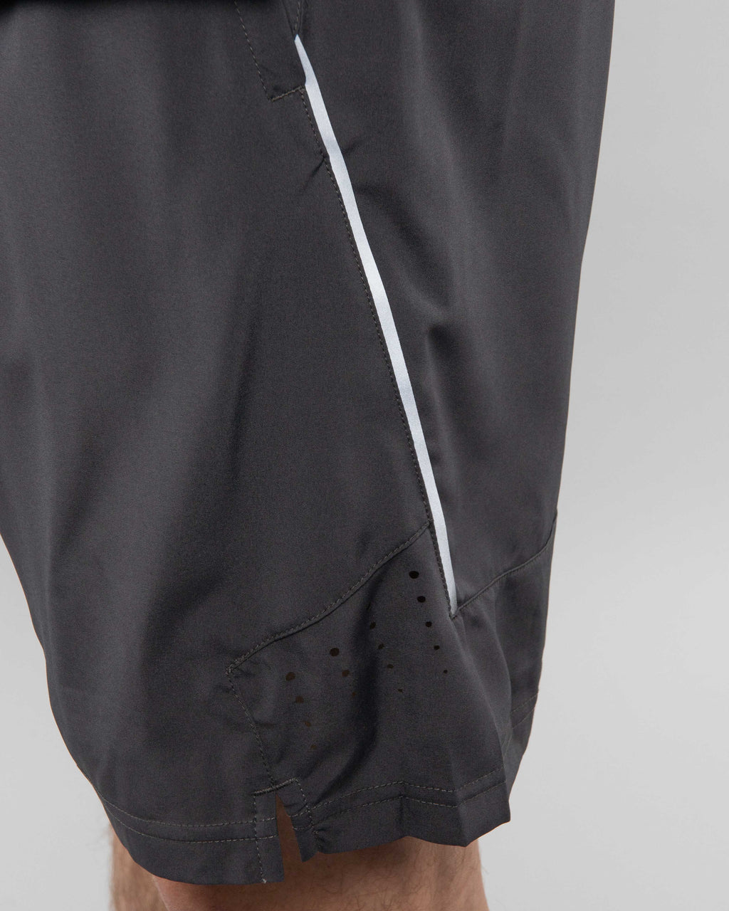 "V2 8"" Performance Shorts ~ Charcoal"