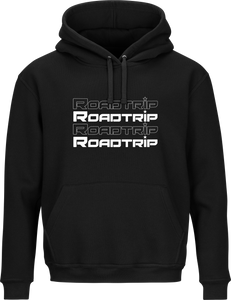 Road Trip Repeat Logo Hoodie - Black