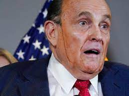 Rudy Giuliani Preparing His Defense; Cover Your Nose