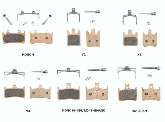 Hope Sintered Brake Pads