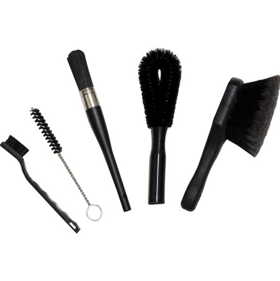Finish Line Easy Pro Brush Set - 5 different brushes