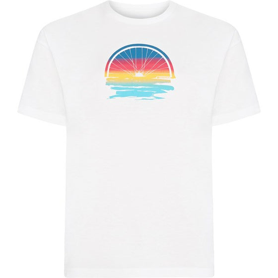 Madison women's sunset T