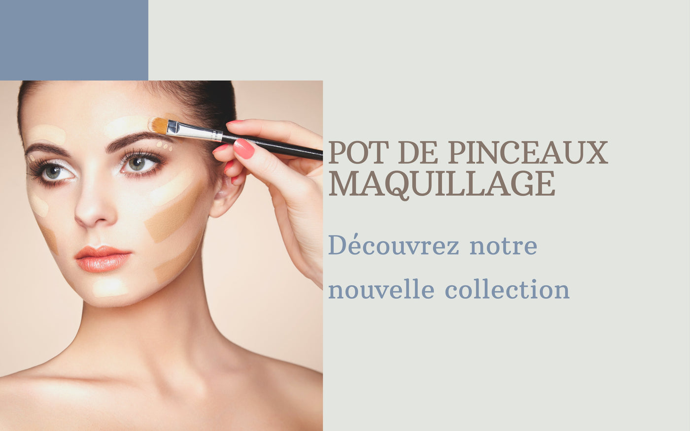 Pot Pinceaux Maquillage