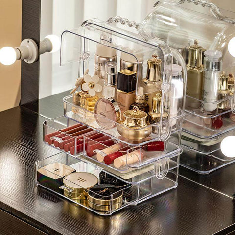 Coffret Makeup Transparent