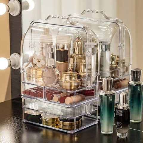 Coffret Maquillage Transparent