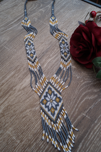 Load image into Gallery viewer, Ukrainian Traditional Necklace Gerdan Zirka