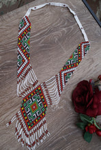 Load image into Gallery viewer, Ukrainian Traditional Necklace Gerdan Chervona Ruta