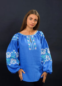 Vyshyvanka with roses
