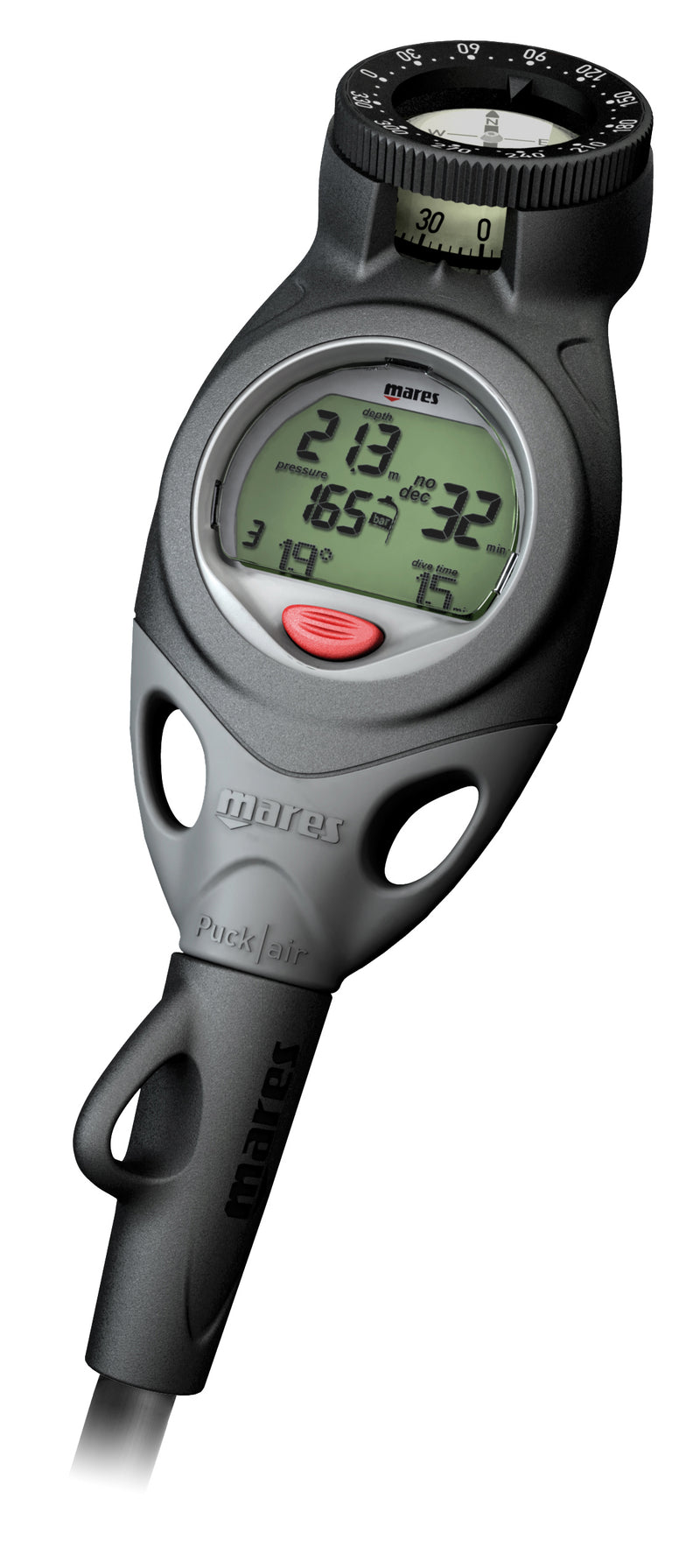 Mares Puck Air Computer with Compass Diving - Dive & Fish