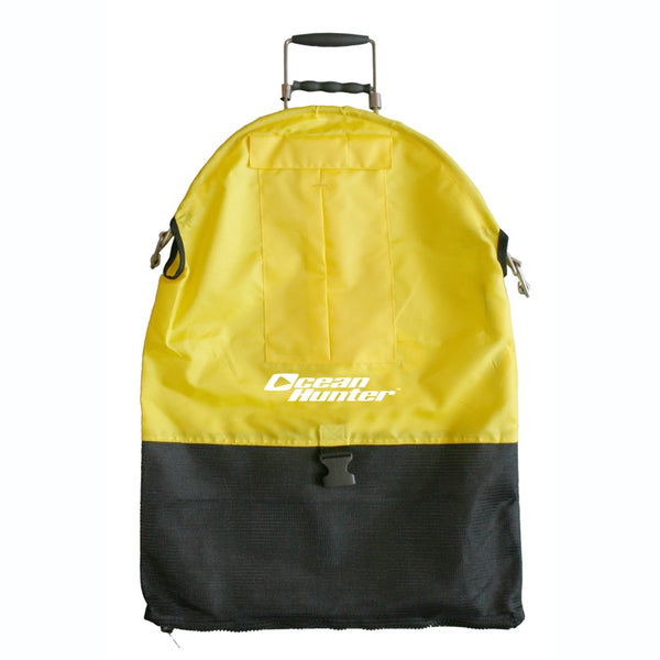 Ocean Hunter Spring Loaded Catch Bag Yellow Spearfishing - Dive & Fish