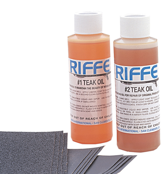 Riffe Teak Maintenance Kit Spearfishing - Dive & Fish