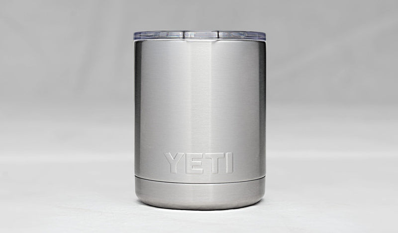 YETI 10 OZ LOWBALL WITH LID Watersports - Dive & Fish