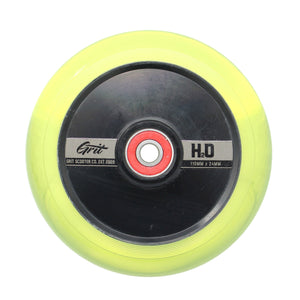 Grit Scooters Hollow Core Wheels H2O Yellow 110mm x 24mm - Prime Delux Store