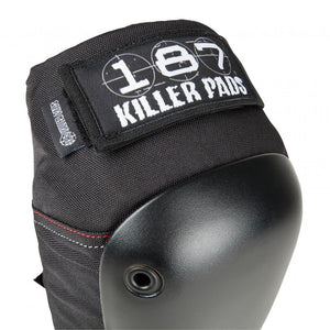 Load image into Gallery viewer, 187 Killer Pads Fly Knee Pad – Black / Black - Prime Delux Store