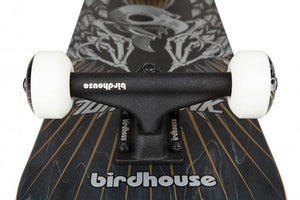 "Birdhouse 7.75"" Stage 3 Hawk Wings Complete Skateboard - Black - Prime Delux Store"