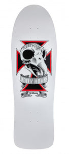"Load image into Gallery viewer, Birdhouse Old School Deck Tony Hawk Skull White 10.25"" - Prime Delux Store"