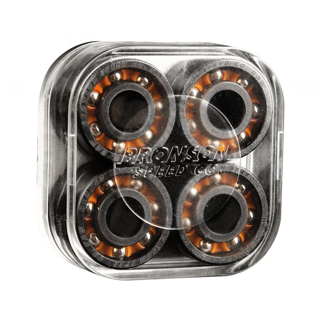 Bronson Speed Co. Bearings Raw (pack of 8) - Prime Delux Store
