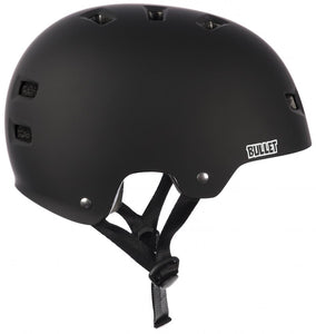 Bullet Deluxe Helmet Youth One Size Matt Black - Prime Delux Store