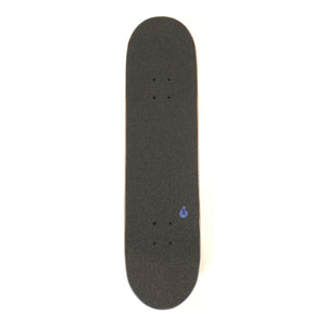 "Birdhouse 8"" Stage 3 B Logo Complete Skateboard - Black / Blue"