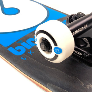 "Load image into Gallery viewer, Birdhouse 8"" Stage 3 B Logo Complete Skateboard - Black / Blue"