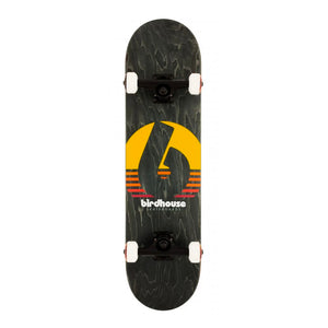 "Load image into Gallery viewer, Birdhouse 8"" Stage 3 Sunset Complete Skateboard - Black - Prime Delux Store"
