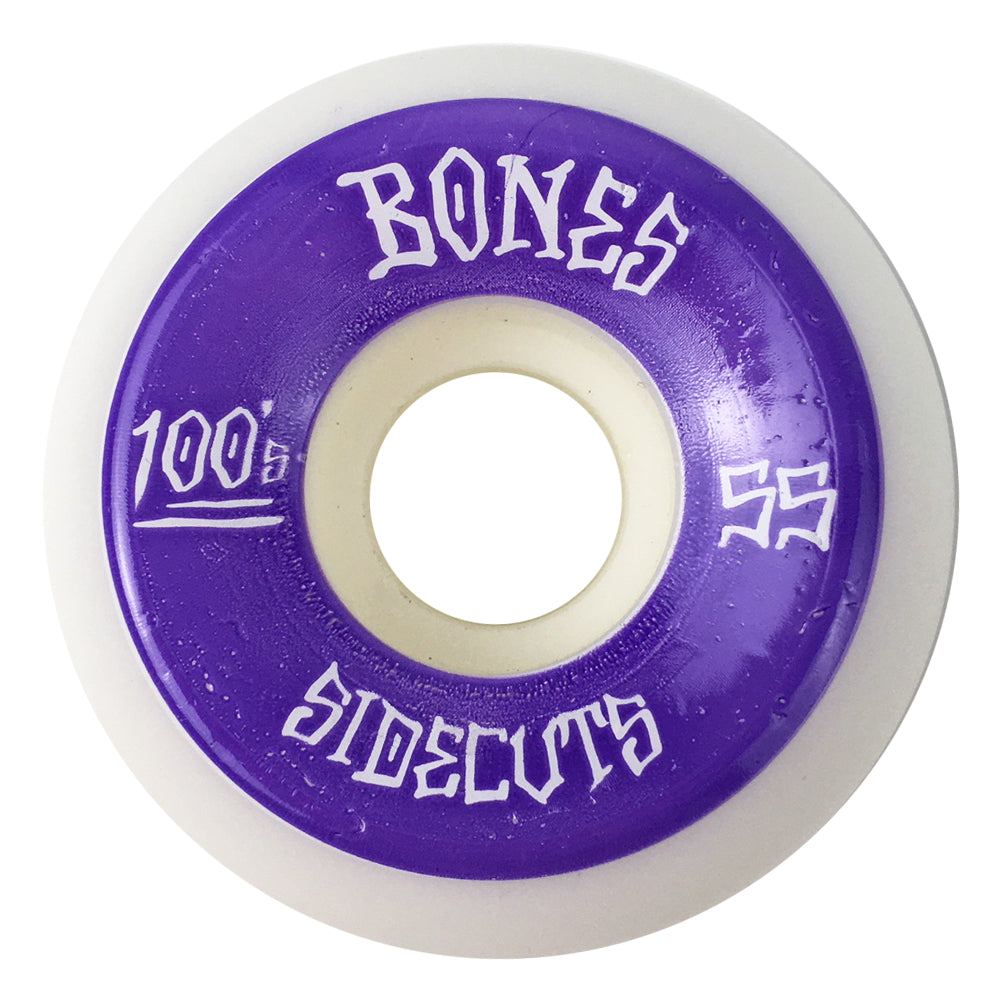 Bones 100's Sidecuts Wheels 55mm - Prime Delux Store
