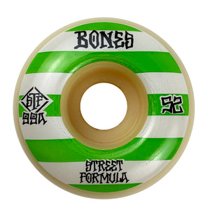 Load image into Gallery viewer, Bones - 52mm - STF Patterns 99a V4 Wide Wheels - White - Prime Delux Store