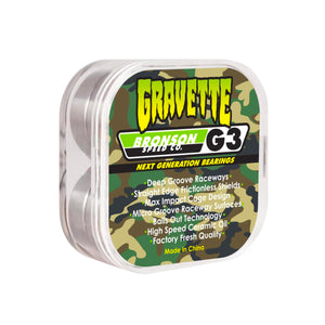 Bronson Speed Co. Bearings David Gravette Pro G3 - Prime Delux Store