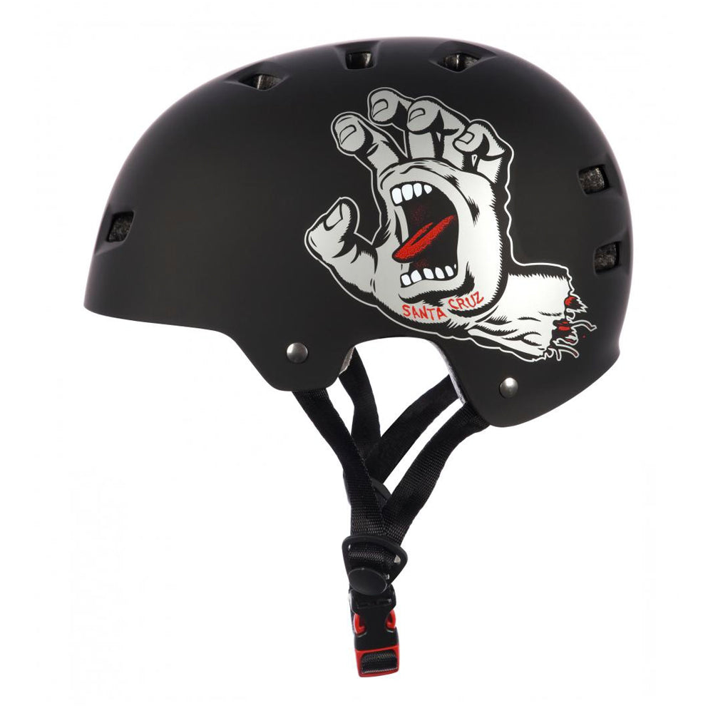 Bullet x Santa Cruz Helmet Screaming Hand - Matt Black - Prime Delux Store