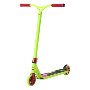 Load image into Gallery viewer, Claudius Vertesi Team Signature Complete Scooter Neon Yellow - Prime Delux Store