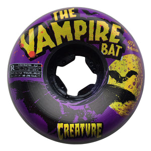 Creature Vampire Bat Bloodsuckers Black / Purple Swirls 56mm - Prime Delux Store