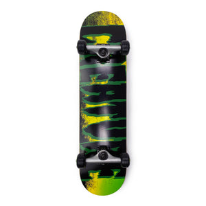 "Load image into Gallery viewer, Creature Complete Logo Scan Skateboard Black / Green - 7.75"" - Prime Delux Store"