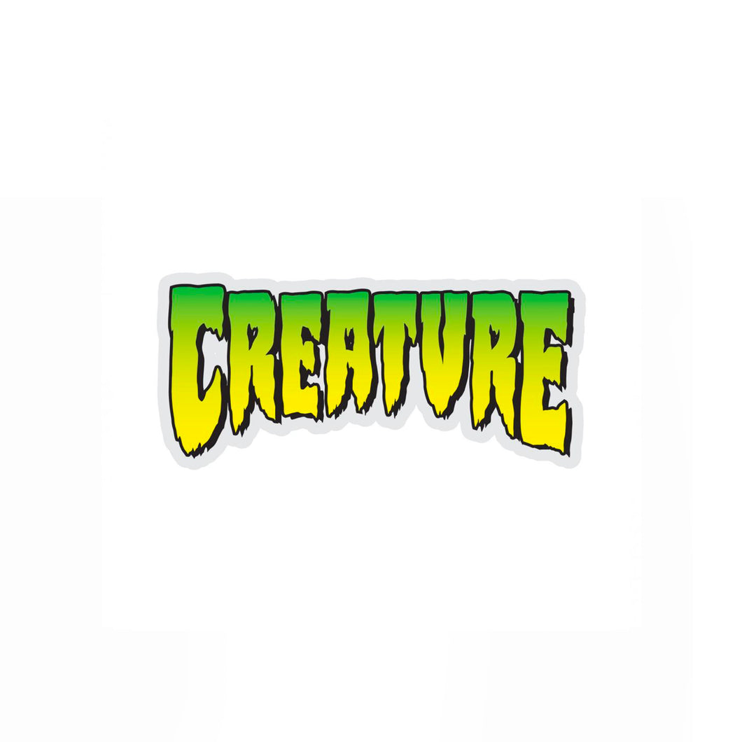 Creature Sticker - Black / Green - Prime Delux Store