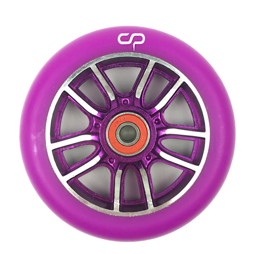 CRISP F1 Forged Wheel - 110mm - Purple Silver / Purple (Sold as a single item) - Prime Delux Store