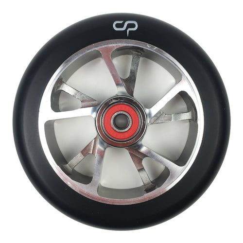 CRISP F1 Forged Wheel - 120mm - Black / Silver (Sold as a single item) - Prime Delux Store