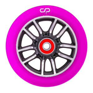 Crisp F1 Forged Wheel - 110mm - Purple on Black - Prime Delux Store