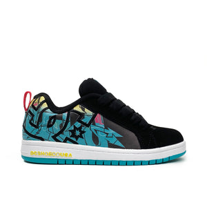 Load image into Gallery viewer, DC Court Graffik Youth Shoes - Multi - Prime Delux Store