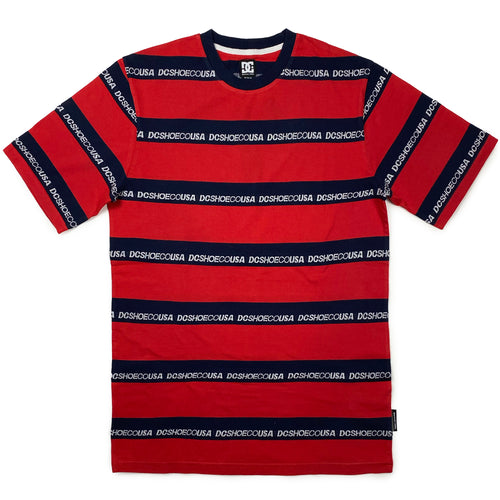 DC Middlegate T Shirt - Navy / Red - Prime Delux Store