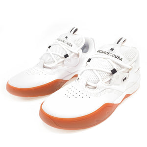 Load image into Gallery viewer, DC Shoes Kalis Skate Shoes - White / Gum - Prime Delux Store