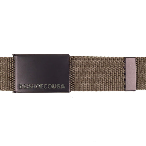 DC Shoes Web Belt 2 - Ivy Green - One Size - Prime Delux Store