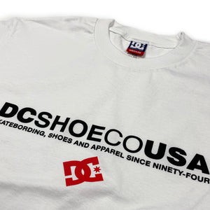 DC USA T-shirt - White - Prime Delux Store