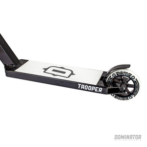 Load image into Gallery viewer, Dominator Trooper Complete Scooter - Black / White - Prime Delux Store