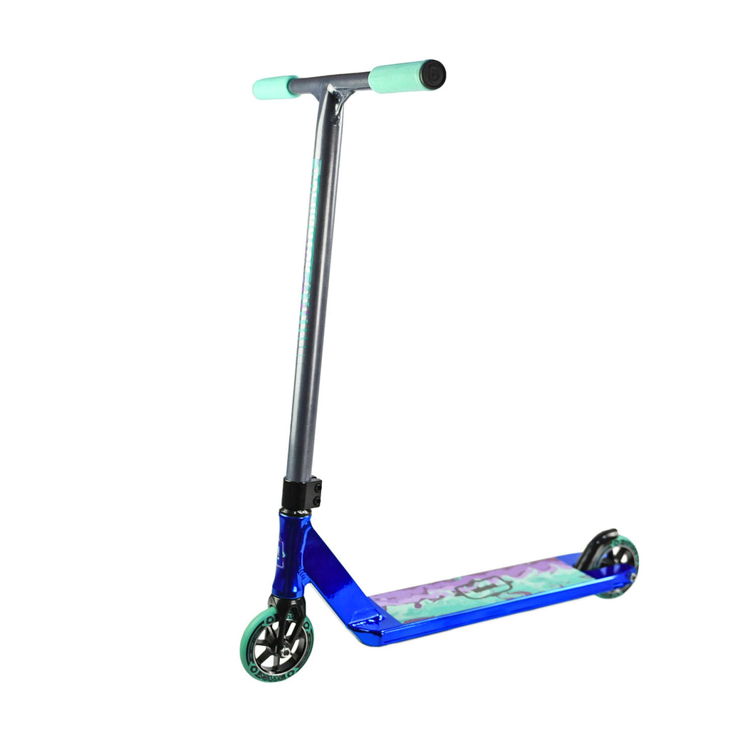 Dominator Team Edition Complete Scooter - Navy Chrome - Prime Delux Store