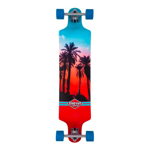 D Street Drop Down Hawaiian Longboard 39.5