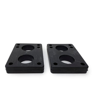 D Street Risers Soft Black 1/2 IN (Pack of 2) - Prime Delux Store