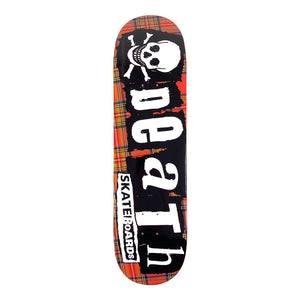 "Load image into Gallery viewer, Death - 8.375"" - Tartan Deck - Prime Delux Store"
